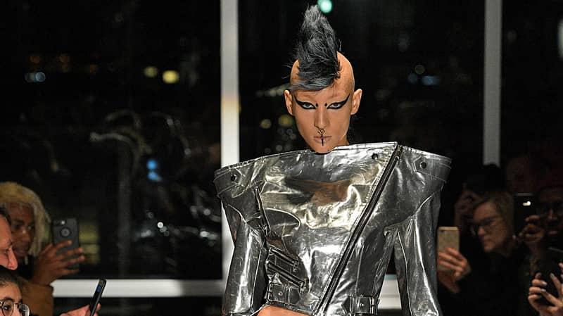 Fashion Designer Showcases 'Pubic Wigs' At New York Fashion Week