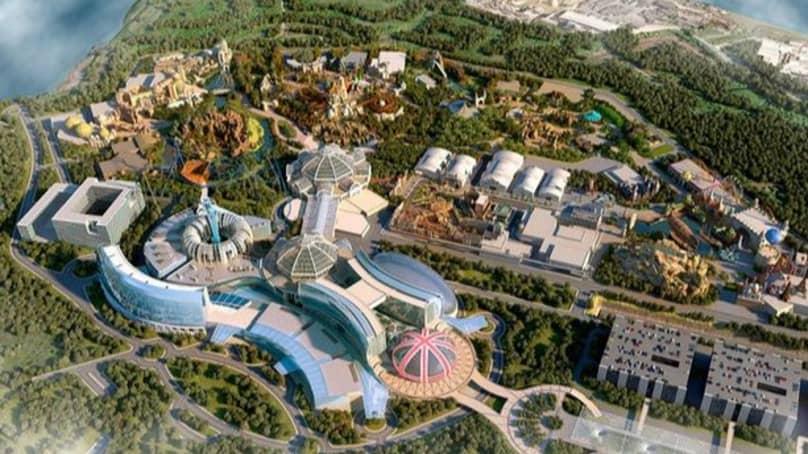 Plans For 'UK Disneyland' Halted After Rare Spider Found On Site