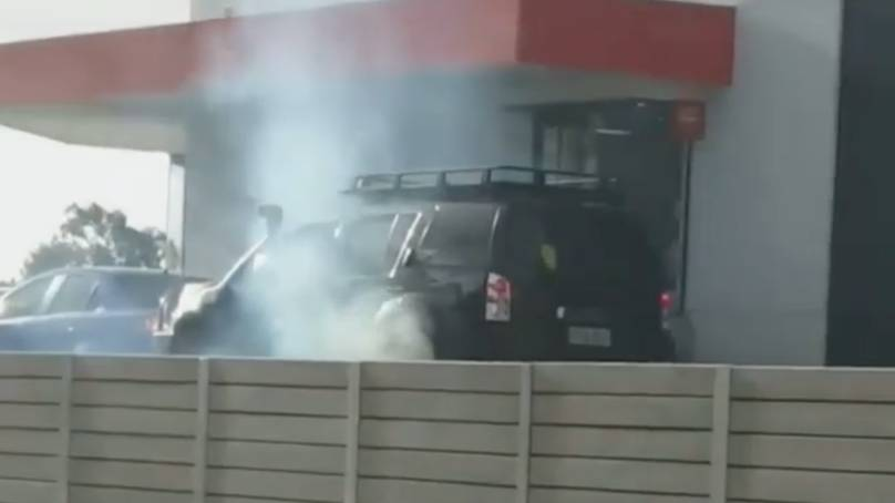Man Does Burnout At Hungry Jack's Because Soft Serve Machine Was Broken